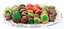 Christmas Cookie Trays.Christmas Cookies Continental Cookies
